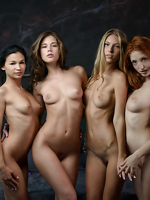 X-Art  Keira, The Red Fox, Angelica, Caprice  Model